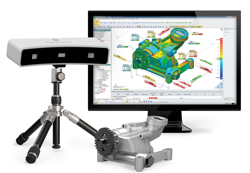3D scanning, reverse engineering, 3D inspection services and